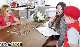 BANGBROS - Juan El Caballo Loco Gets French Charge order From Anissa Kate