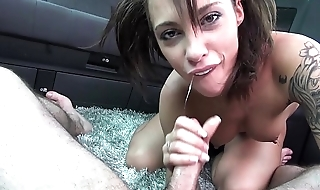 Kinky Slut getting Shaft and Goo in a Van