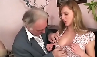 grandpas first threesome orgy