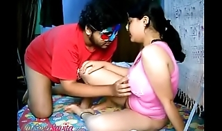 Big Boob Indian Bhabhi Savita Fingering Pussy And Fucked In Missionary Style