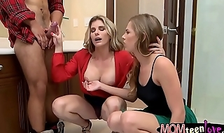 Cory Chase and Sydney Cole threesome sex