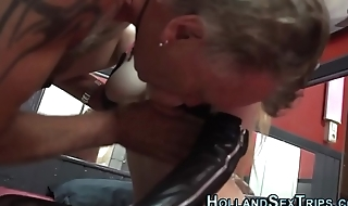 Fingered dutch hooker