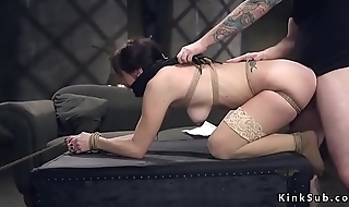 Tied up previously to wife rough banged