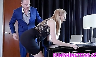 Bdsm secretary riding
