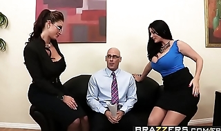 Brazzers - (Eva Notty, Sophie Dee, Johnny Sins) - Acing the Interview