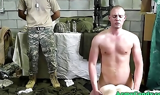 Military hunks ass fucked after wresting