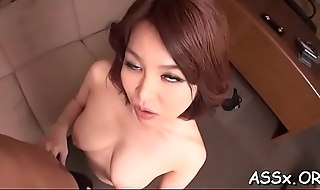 Hot ass fucking for japanese playgirl by way of rough gangbang