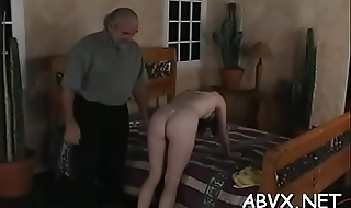 Top fetish bondage porn with girls gleaming addicted to wang