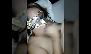 Horny Mature Colombian Milf Gives a Blowjob (Homemade)