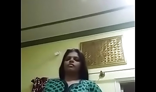 1~ Desi aunty showing off sexy figure