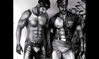 Tribute to Tom of Finland'_s drawings