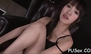 Perky tits sexy asian strip tease