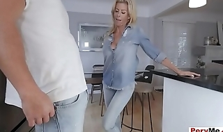 To became a cool and trendy stepmom she needs to blow