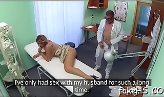 Alluring doctor gets drilled hard