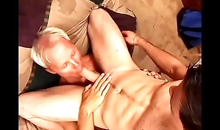 Horny cop gets his tight-fisted ass and padlock licked by young stud
