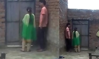 Boy enjoy with his girl friend when no two home