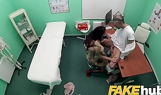 Fake Hospital Sexy fur clad patient wants good fucking from big dick doctor
