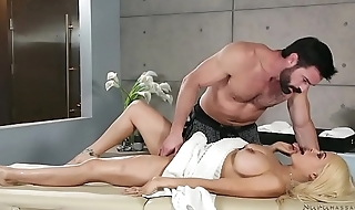 I'_m married and don'_t like any alms-man touching me! # Luna Star