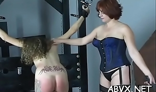 Zenith notch amateur bondage scenes with young angel